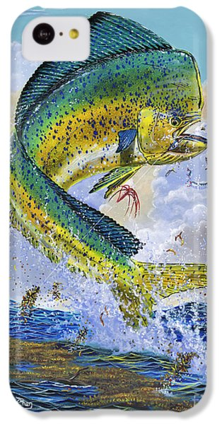 Mahi Hookup Off0020 IPhone 5c Case by Carey Chen