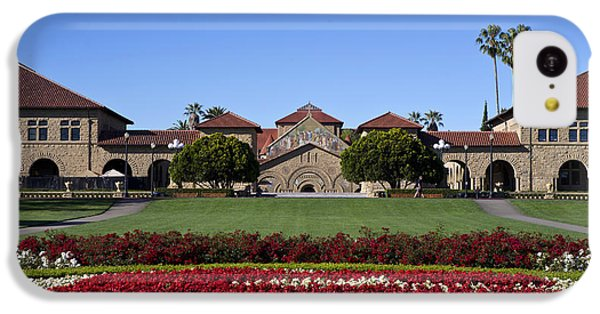 Main Quad Stanford California IPhone 5c Case by Jason O Watson
