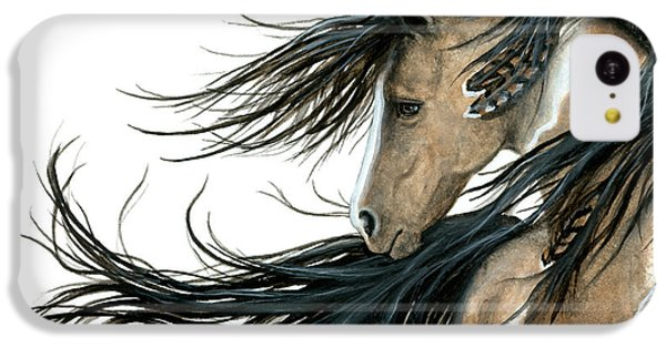 Majestic Horse Series 89 IPhone 5c Case by AmyLyn Bihrle