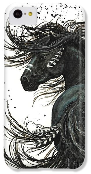 Majestic Spirit Horse 65 IPhone 5c Case by AmyLyn Bihrle