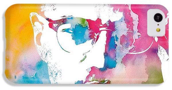 Malcolm X Watercolor IPhone 5c Case by Dan Sproul