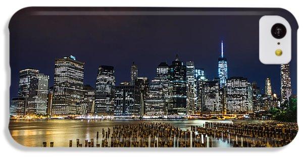 Manhattan Skyline - New York - Usa IPhone 5c Case by Larry Marshall