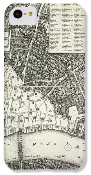 Map Of London IPhone 5c Case by British Library