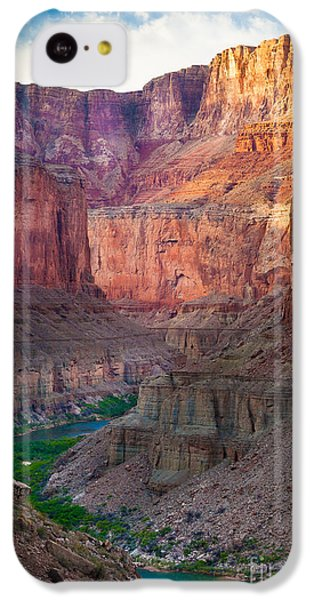 Marble Cliffs IPhone 5c Case by Inge Johnsson