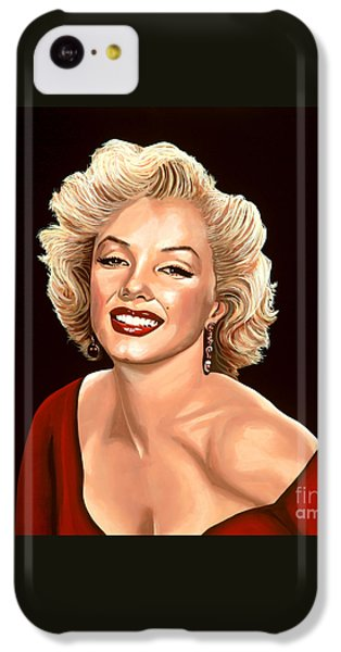 Marilyn Monroe 3 IPhone 5c Case by Paul Meijering