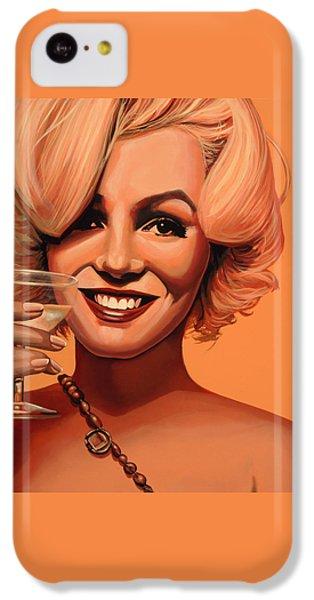 Marilyn Monroe 5 IPhone 5c Case by Paul Meijering