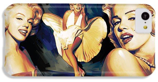 Marilyn Monroe Artwork 3 IPhone 5c Case by Sheraz A