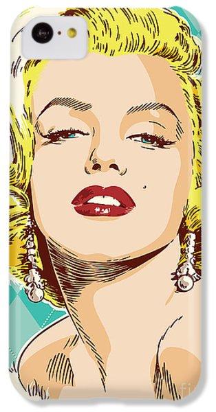 Marilyn Monroe Pop Art IPhone 5c Case by Jim Zahniser