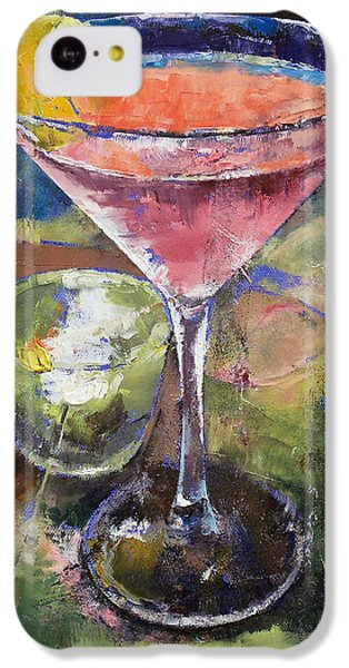 Martini IPhone 5c Case by Michael Creese
