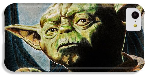 Master Yoda IPhone 5c Case by Brian Broadway