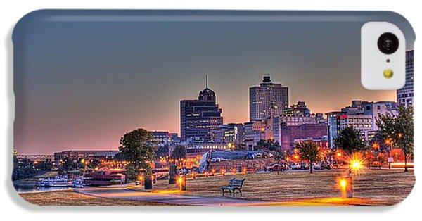 Cityscape - Skyline - Memphis At Dawn IPhone 5c Case by Barry Jones