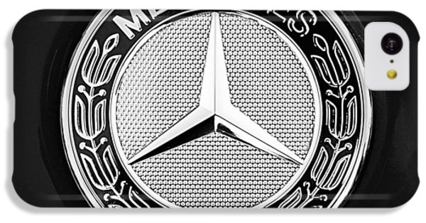 Mercedes-benz 6.3 Gullwing Emblem IPhone 5c Case by Jill Reger
