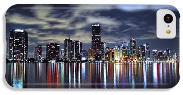Miami Skyline IPhone 5c Case by Gary Dean Mercer Clark