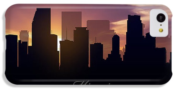 Miami Sunset IPhone 5c Case by Aged Pixel