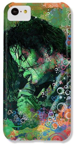 Michael Jackson 15 IPhone 5c Case by Bekim Art