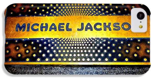 Michael Jackson Apollo Walk Of Fame IPhone 5c Case by Ed Weidman