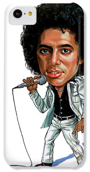 Michael Jackson IPhone 5c Case by Art