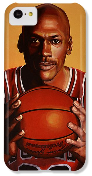 Michael Jordan 2 IPhone 5c Case by Paul Meijering