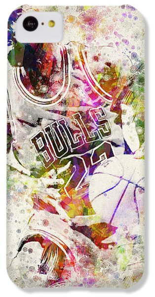 Michael Jordan IPhone 5c Case by Aged Pixel