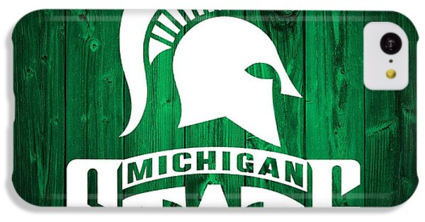 Michigan State Barn Door IPhone 5c Case by Dan Sproul