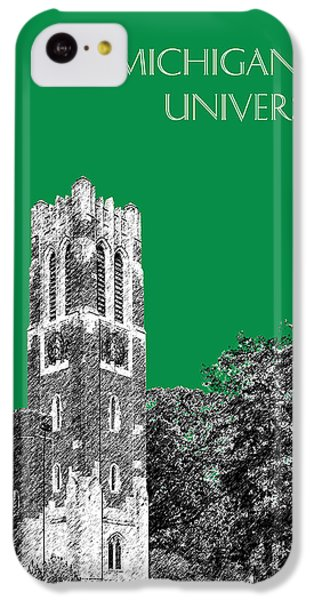 Michigan State University - Forest Green IPhone 5c Case by DB Artist