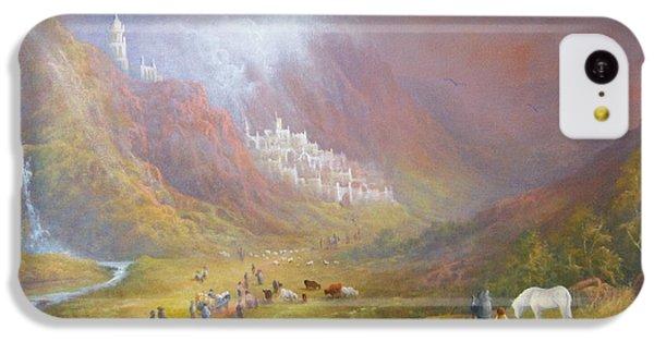 Minas Tirith  War Approaches. IPhone 5c Case by Joe  Gilronan
