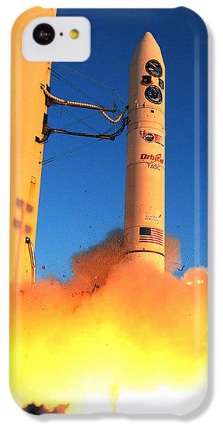 Minotaur Iv Rocket Launches Falconsat-5 IPhone 5c Case by Science Source