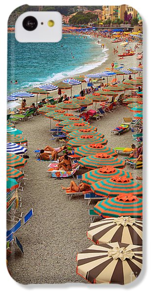 Monterosso Beach IPhone 5c Case by Inge Johnsson