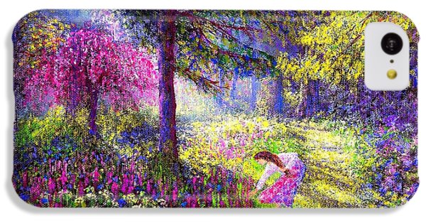 Morning Dew IPhone 5c Case by Jane Small