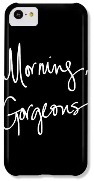 Morning Gorgeous IPhone 5c Case by South Social Studio