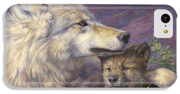 Mother's Love IPhone 5c Case by Lucie Bilodeau