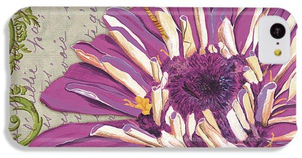 Moulin Floral 2 IPhone 5c Case by Debbie DeWitt