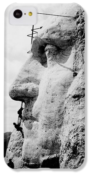 Mount Rushmore Construction Photo IPhone 5c Case by War Is Hell Store