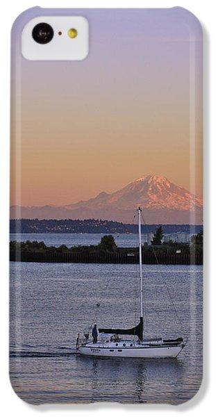 Mt. Rainier Afterglow IPhone 5c Case by Adam Romanowicz