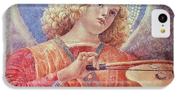 Musical Angel With Violin IPhone 5c Case by Melozzo da Forli