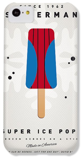 My Superhero Ice Pop - Spiderman IPhone 5c Case by Chungkong Art