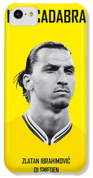 My Zlatan Soccer Legend Poster IPhone 5c Case by Chungkong Art