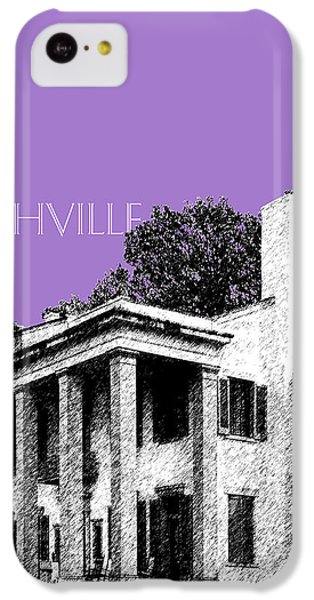 Nashville Skyline Belle Meade Plantation - Violet IPhone 5c Case by DB Artist