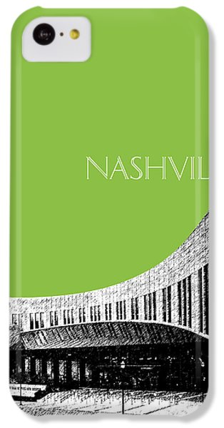 Nashville Skyline Country Music Hall Of Fame - Olive IPhone 5c Case by DB Artist