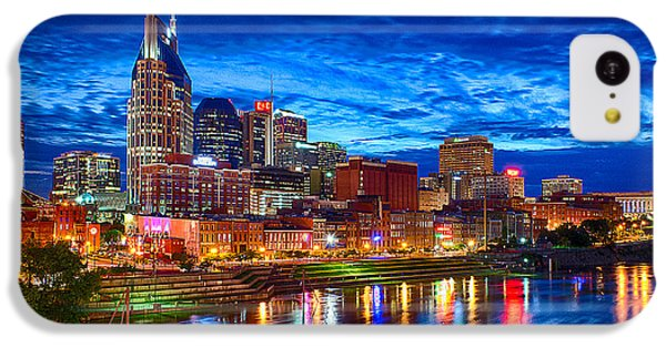 Nashville Skyline IPhone 5c Case by Dan Holland