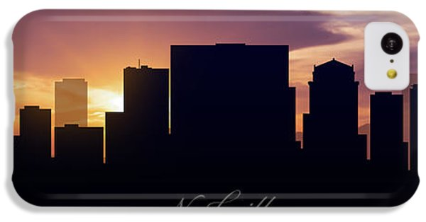 Nashville Sunset IPhone 5c Case by Aged Pixel