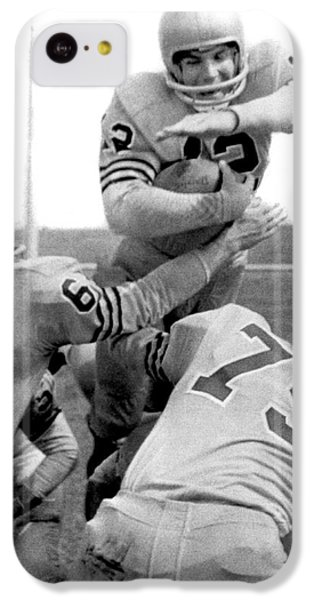 Navy Quarterback Staubach IPhone 5c Case by Underwood Archives