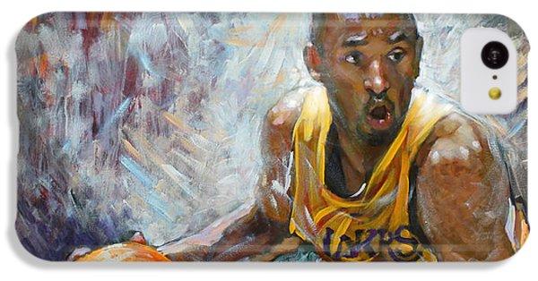 Nba Lakers Kobe Black Mamba IPhone 5c Case by Ylli Haruni
