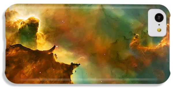 Nebula Cloud IPhone 5c Case by The  Vault - Jennifer Rondinelli Reilly