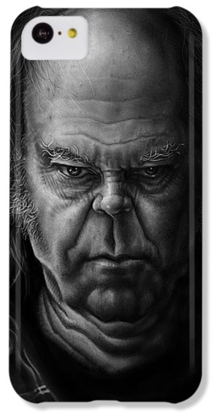 Neil Young IPhone 5c Case by Andre Koekemoer