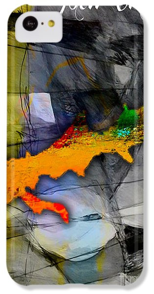 New Orleans Map Watercolor IPhone 5c Case by Marvin Blaine