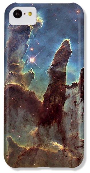 New Pillars Of Creation Hd Tall IPhone 5c Case by Adam Romanowicz