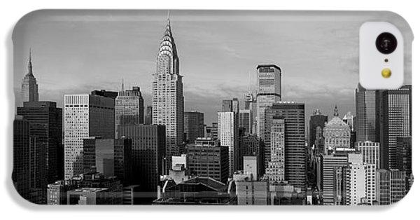 New York City Skyline IPhone 5c Case by Diane Diederich