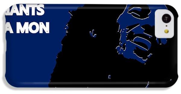 New York Giants Ya Mon IPhone 5c Case by Joe Hamilton