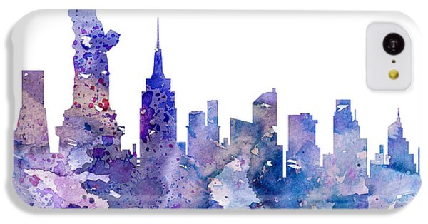 New York IPhone 5c Case by Luke and Slavi